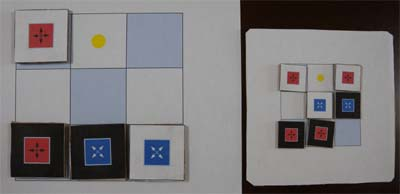 FlipFlopのボードと駒 -- 大小