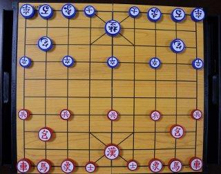 マグネットのポータブルチャンギ 両脇に抽出しがあり駒を収納できる