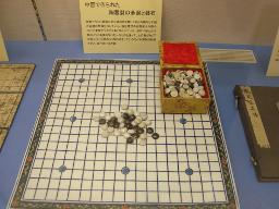 中国の碁盤と碁石