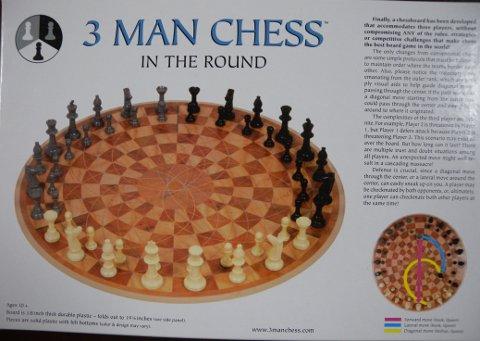 3 Man Chess パッケージ