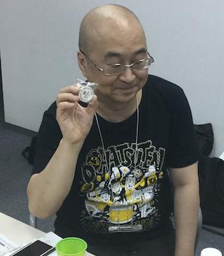 優勝の時田さん