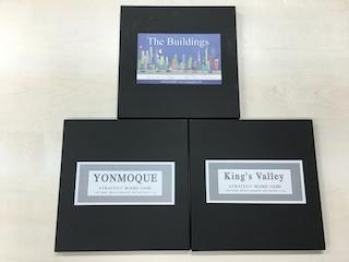 山本さんから会に寄贈されたYONMOQUE & King's Valley & The Buildings
