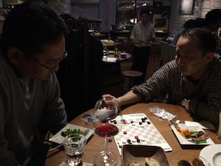 翌日のゲーム会のために五反田に宿泊の正田さんと第5部へ