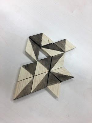 木村さんの菱形駒を使った非対称4並べゲーム