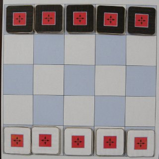 FlipFlop 5x5 初期配置