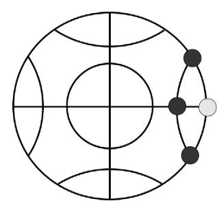 Globe 駒を取る例