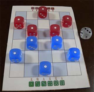 16mm dice pieces
