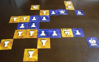 Tile Chess 2 Playerでの大局