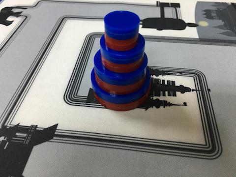 磁石ディスクのハノイの塔