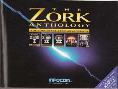 Zork Anthology Manual