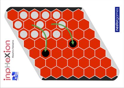 複数の駒を囲う3